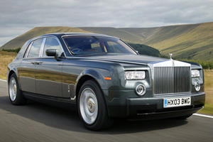 Luxury Car Evolution: 2003 Rolls-Royce Phantom