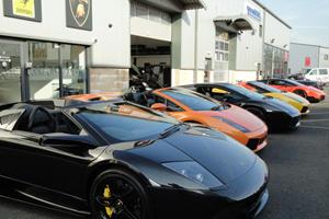 Amari Supercars Hosts Epic Lamborghini Lineup