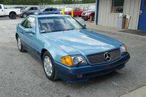 Stolen 1992 Mercedes SL500 Wasn't Driven For 28 Years