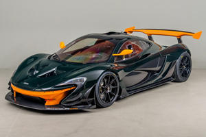 Be The First To Track This McLaren P1 GTR