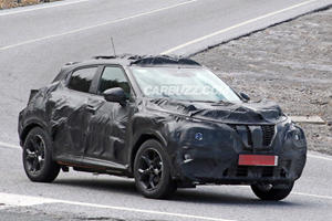 Next Generation Nissan Juke Isn't Ready To Show Its Face