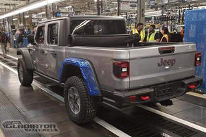 First Jeep Gladiator Rolls Off The Production Line