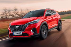 Hyundai Tucson Gets Sporty N Line Treatment