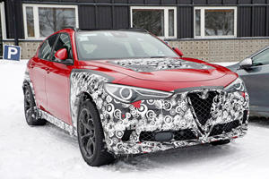 Your First Look At The Alfa Romeo Stelvio Facelift