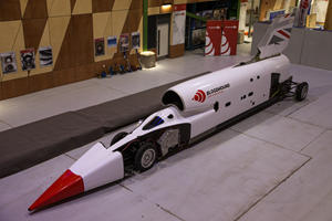 1,000-MPH Bloodhound Jet Car Has Brand New Look And Name