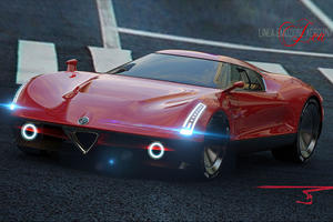 Alfa Romeo Concept Would Be A Stunning 4C Replacement