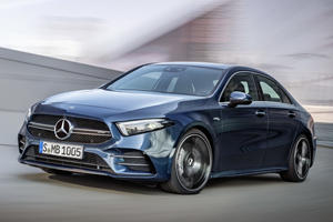 2019 Mercedes-AMG A35 Sedan Arrives To Take On The Audi S3