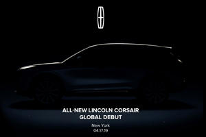 All-New Lincoln Corsair Teased Before New York Debut