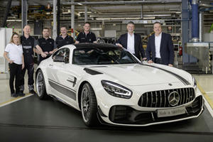Updated Mercedes-AMG GT Enters Production