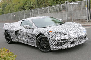 Mid-Engine Corvette C8 Prototype Crashes During Track Testing