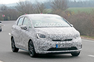 New Honda Fit Spied With Sleek New Design