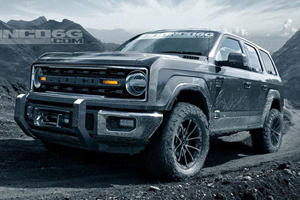 Ford Bronco's Removable Doors And Roof Revealed?