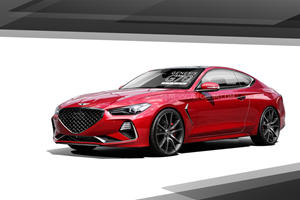 Here's Proof The Genesis G70 Looks Stunning As A Coupe