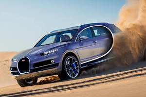 Bugatti Crossover Coming With 1,000 HP