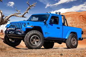 The Hellcat V8 Fits In The Jeep Gladiator 'Like A Glove'