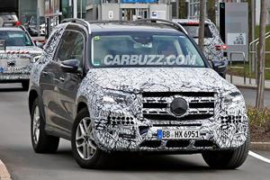 New Mercedes GLS Preparing To Battle BMW X7