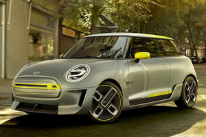 Mini Gives First Electric Car A Name