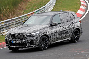New BMW X5 M Flexes Its Muscles At The Nurburgring
