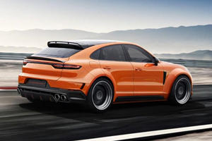 Porsche Cayenne Coupe Set For Extreme Makeover