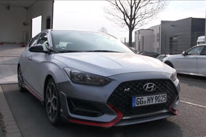 Hyundai Can't Keep Veloster N's New Feature A Secret
