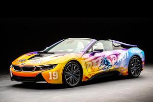Khalid Creates Crazy BMW i8 Art Car