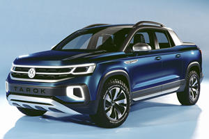 VW Tarok Concept Brings A Very Different Pickup To America