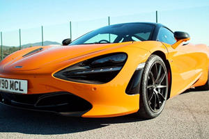 Watch Chris Harris Slay Tires In A McLaren 720S Track Pack