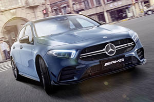 Mercedes-AMG Stretches Its Shortest Sedan For One Country Only