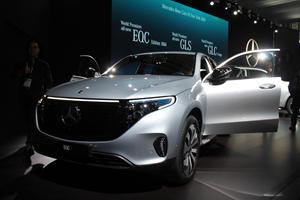 Mercedes Debuts Special Edition EQC