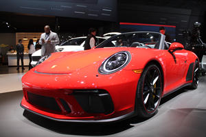 Blast Past Traffic In Porsche's Dazzling 500-HP 911 Speedster