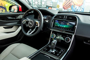 Jaguar Design Boss Thinks Massive Touchscreens In Cars Are A Bad Idea