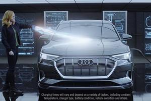 Watch Captain Marvel Drive The Audi e-tron