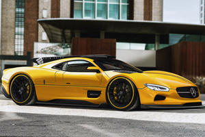 Imagine If Mercedes Made The CLK GTR Today