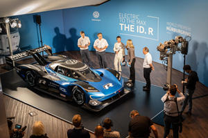 Volkswagen's All-Electric ID. R Arrives At The Nurburgring