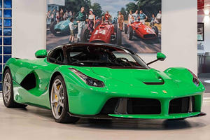 Celebrity-Owned One-Of-A-Kind LaFerrari Up For Sale