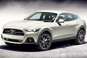 Ford Mustang Transformed Into Electric SUV