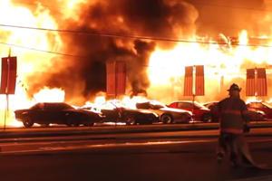 Fire Destroys Dozens Of Vintage Camaros And Corvettes
