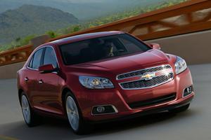 Breaking: 2013 Chevrolet Malibu Picture Leaked Online