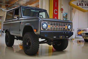 Jay Leno Gets Behind the Wheel of a Bronco