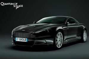 James Bond's Aston DBS for Auction