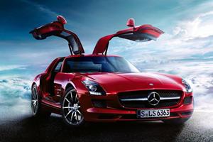 Low Volume Retro: Mercedes-Benz SLS AMG