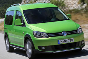 VW Rolls Out New Cross Caddy