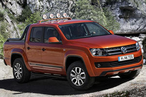 VW Debuts Amarok Canyon Edition in Hanover