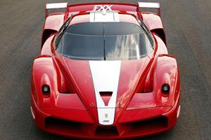 Ferrari Showcases Supercar Chassis in Paris