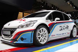 Peugeot Debuts 208 R5 Rally Car in Paris
