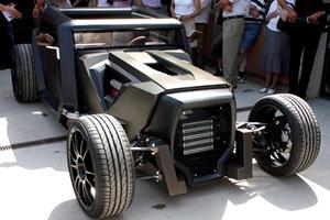 Sbarro Eight Concept Hidden Away at Paris Show