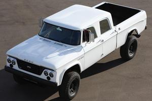 Icon Dodge D200 Rumbles Toward SEMA