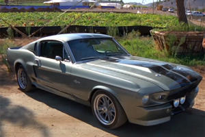 Big Muscle Drives Eleanor Mustang