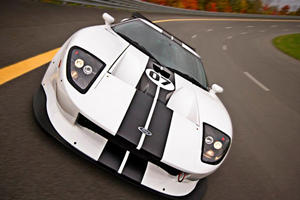 Ford GT Racecar Hits the Road