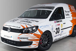 Volkswagen Caddy Racer Receives 270 HP Turbo Engine